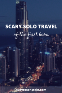 scary solo travel empty nest parenting