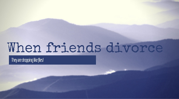 friends divorce