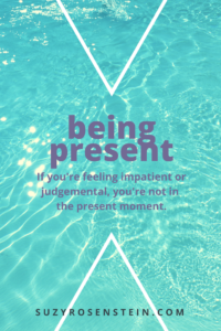 be present mindfulness