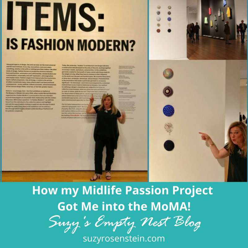 empty nest blog passions midlife MoMA