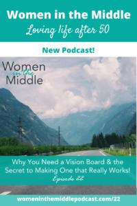 pinterest vision board dreams life coach midlife